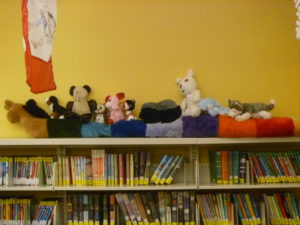 In 2017 your stuffed animals slept over in our library. They got up to all kinds of crazy hijinx!